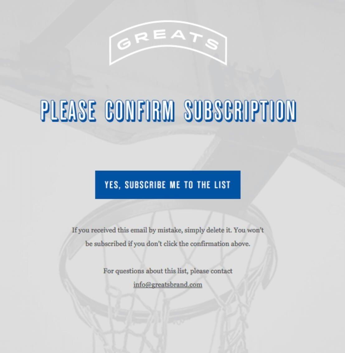 Subscription Confirmation Email Design_Example_EN
