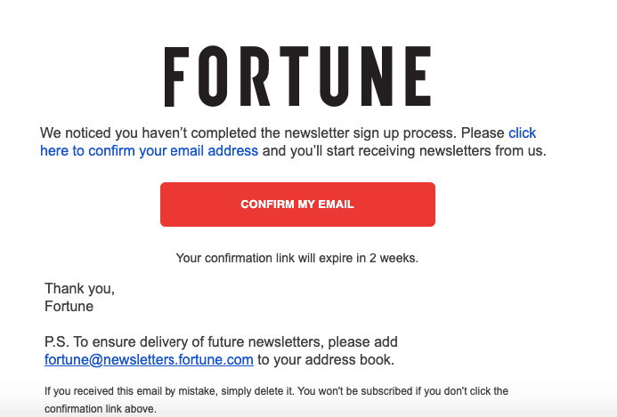 Subscription Confirmation Email_Reminder