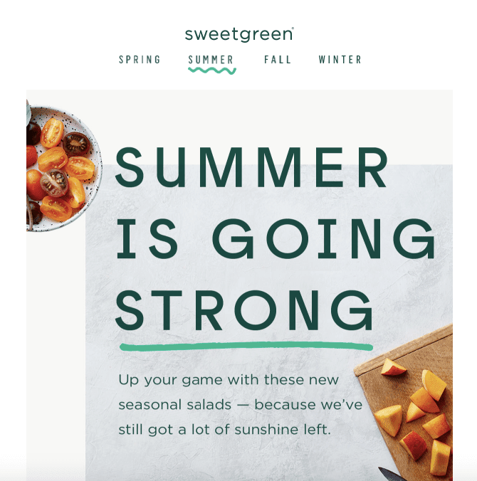 Summer Email Design_Juiceful Photos
