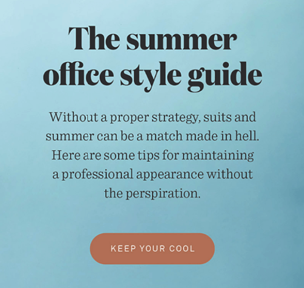 Summer Email Ideas