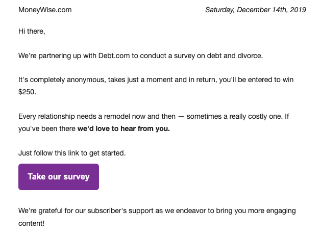 10 Survey Email Invitation Best Practices With Examples Stripo Email