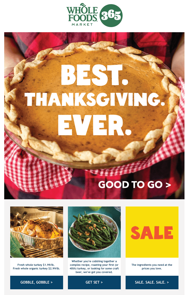 Thanksgiving Email_Promo