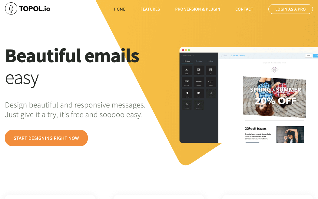 Topol_Email Template Builder