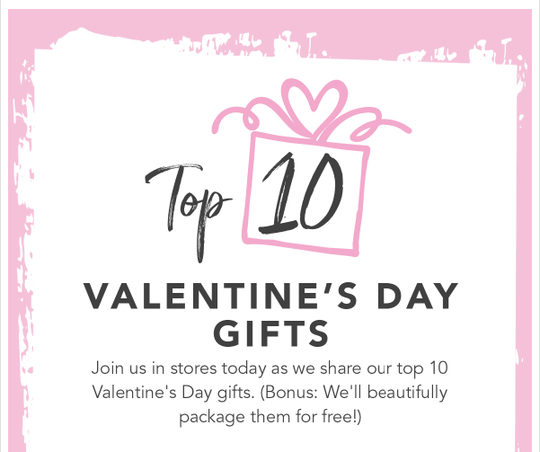 Valentine's Day Top Gifts