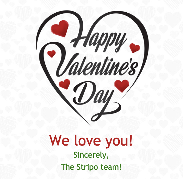 Valentine Day_We Love You_The Stripo Team