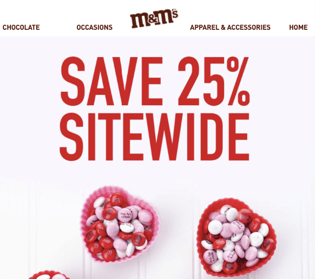 Valentines Day Email Ideas_Focus on Value Proposition