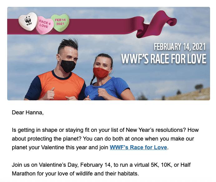 День Святого Валентина-Информационные письма-  Бег-марафоны.