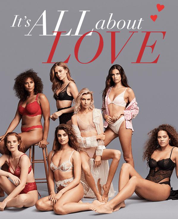 Victoria's Secret_Valentine's Email Design