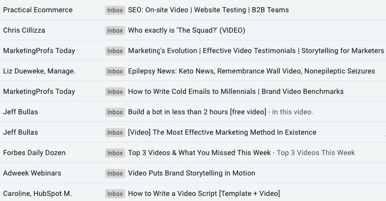Video in Email Marketing_Subject Lines