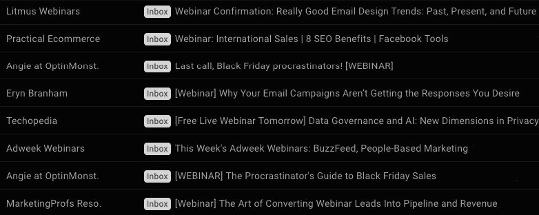 Webinar Invitation_Subject Line