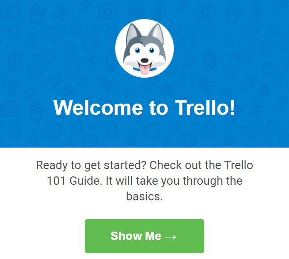 Welcome Ecommerce Emal by Trello