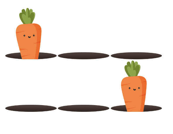 carrots with no information
