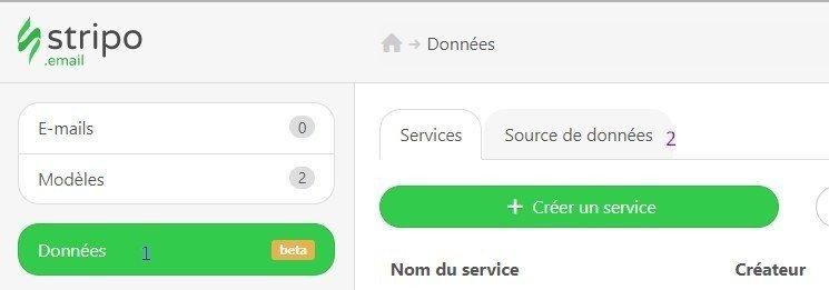source de donnees fr