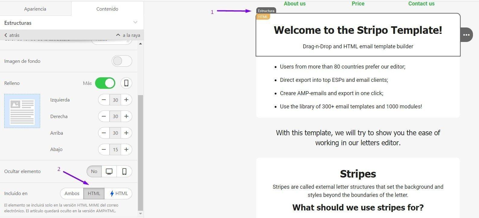 Estructura HTML es