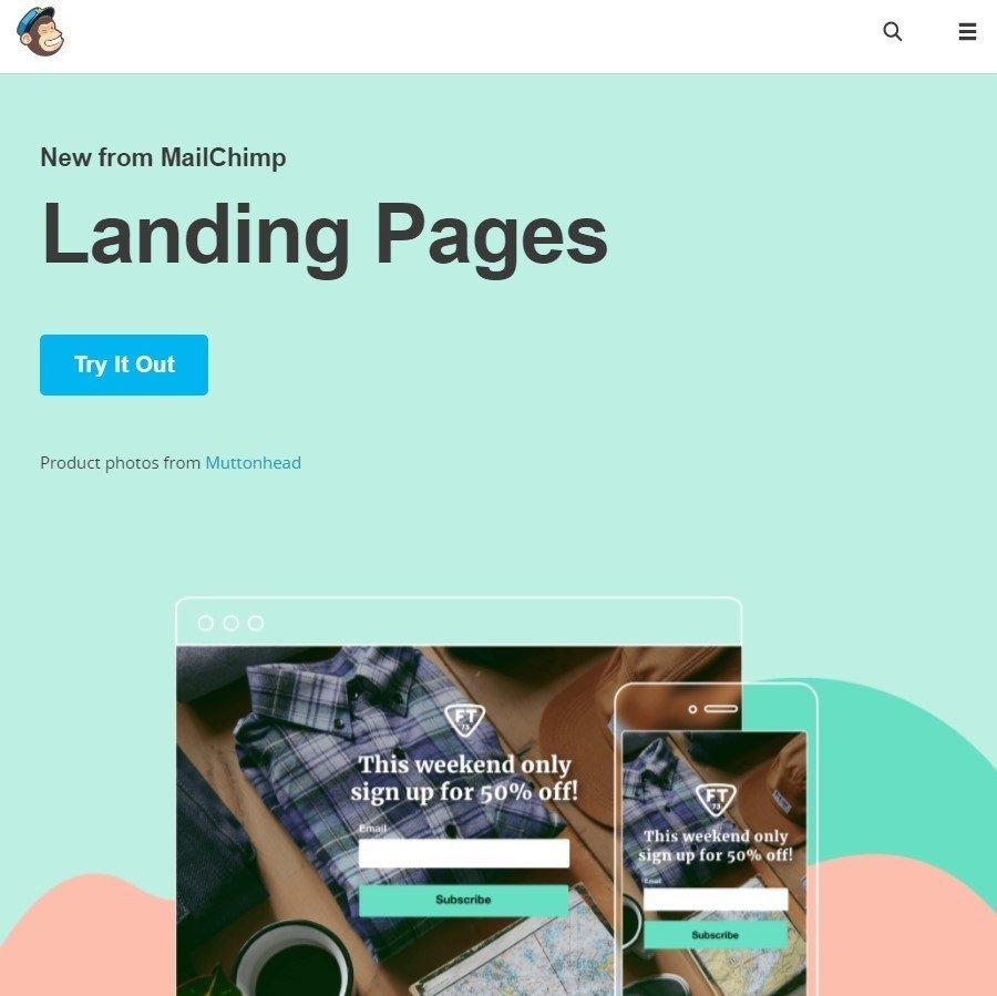 Stripo-MailChimp-Langing-Page