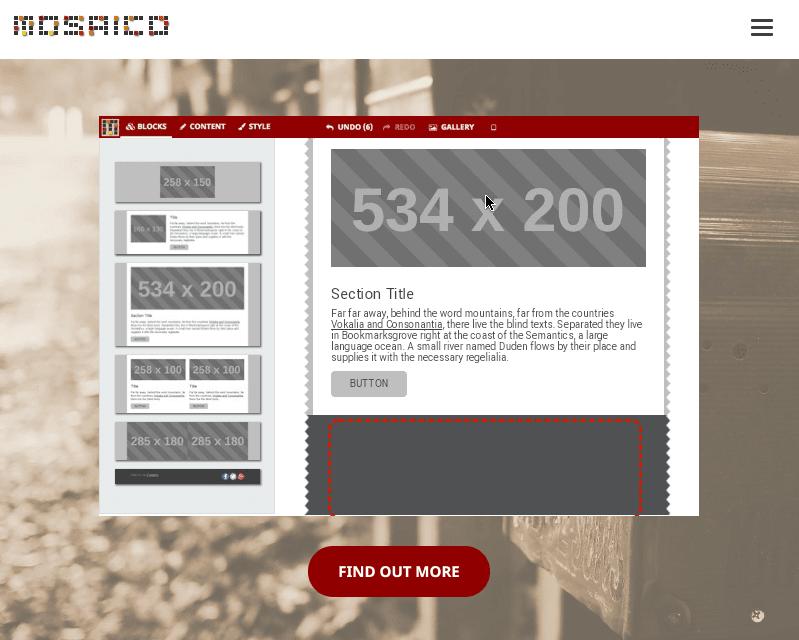 Stripo-Mosaico-Landing-Page