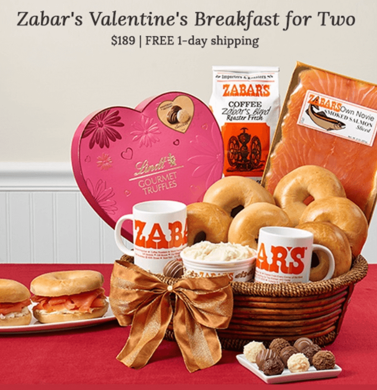 tripo St Valentine Breakfast for Two