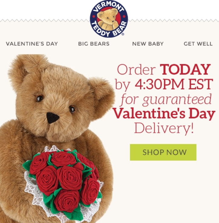 Stripo St Valentine Delivery