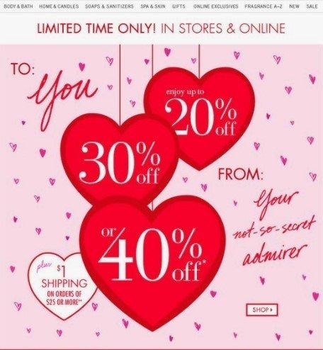 Stripo St Valentine Hearted Desig