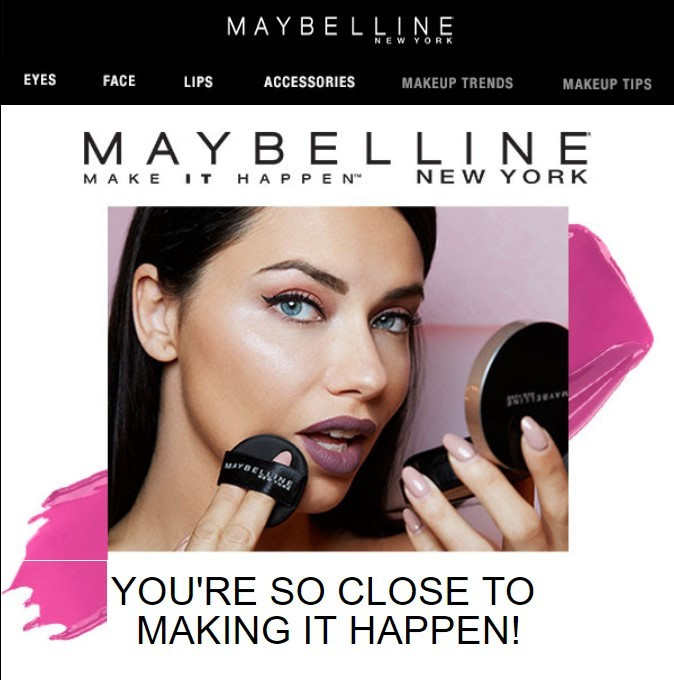 Stripo-Email-Etiquette-Maybelline-Email