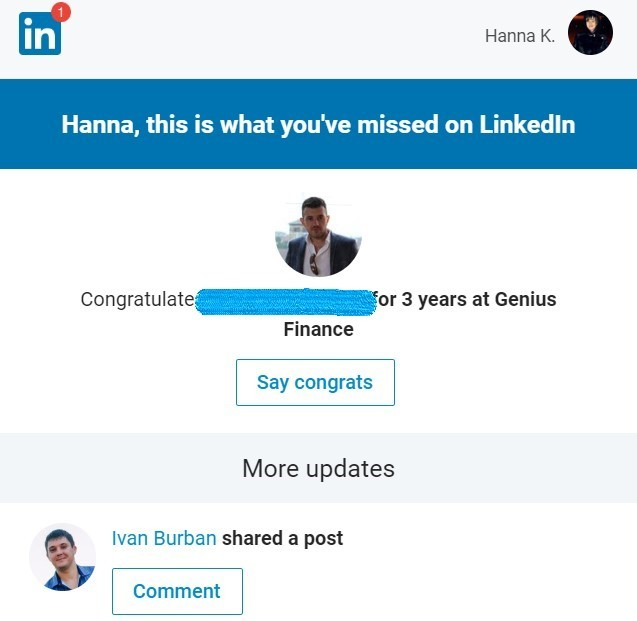 Stripo-Hyperpersonalization-LinkedIn-Personal-Recommendations