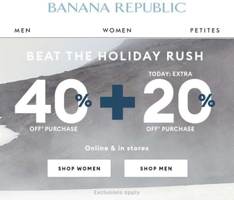 Stripo-Promo-Emails-Banana-Republic-Sale