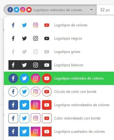 Stripo_Setting-Colors-to-Media-Icons_ES