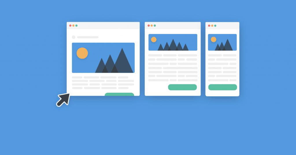 responsive email design, fluid images