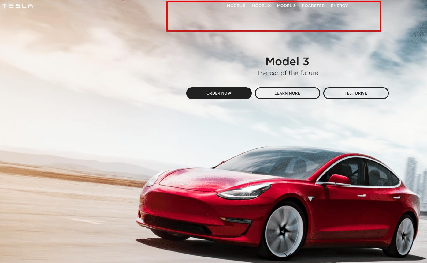 Stripo-Menu-Tesla-Site