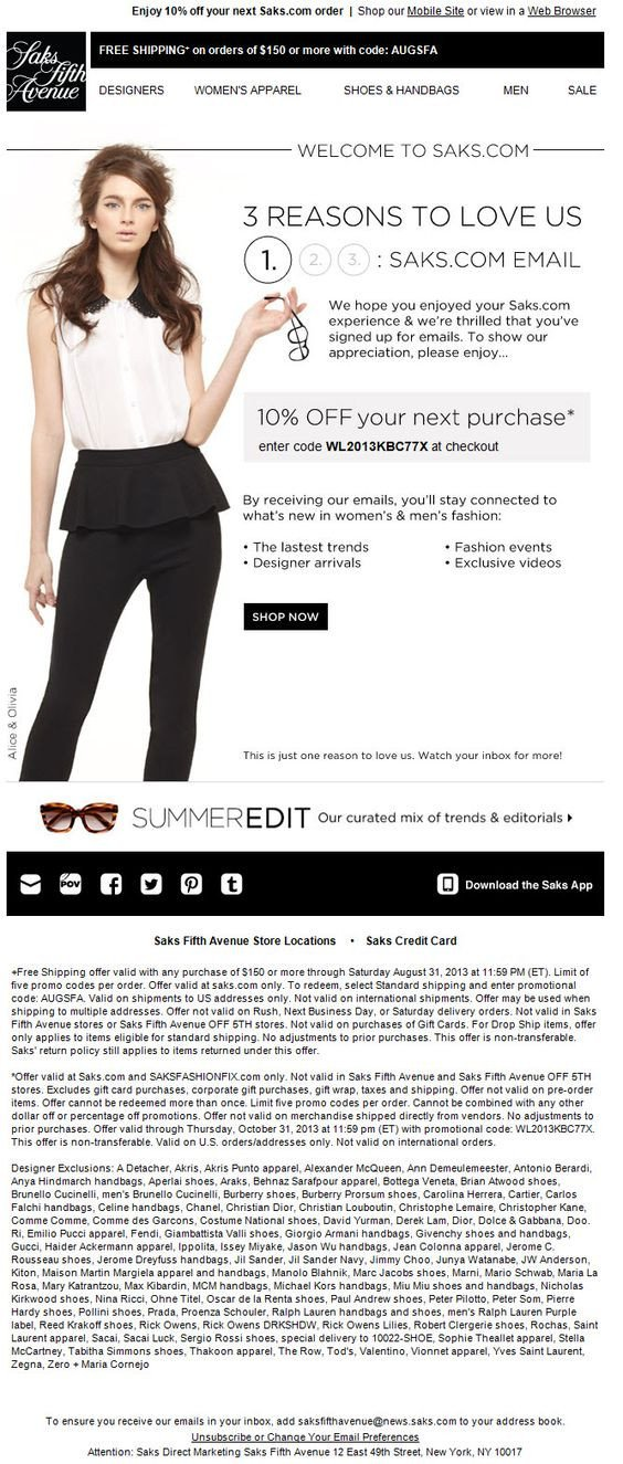responsive email template design, bad text example